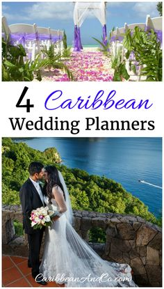 Want to get married in the Caribbean? Here are four Caribbean wedding planners to consider.  They can help you plan and come up with Caribbean-themed wedding ideas.