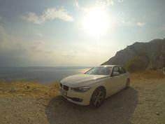 Petr Pácl nám poslal fotku, jak vyrazil se svým BMW poprvé k moři.