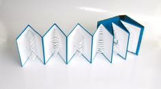 POP UP ACCORDION BOOk w/Hard Cover Binding Original by BoldFolds, $100.00
