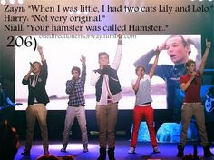 Haha! Touche Niall! You hit that one right on the head.