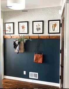 #casadécoration Fall Entryway, Entryway Decor, Wall Decor, Entryway Ideas, Foyer, Wall Mural, Apartment Entryway, Apartment Ideas, Nautical Entryway