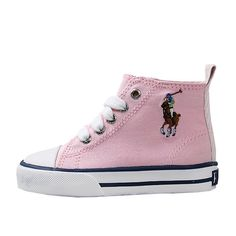 POLO BY RALPH LAUREN BAL HI MULTI (TD) TODDLER 91021-TD - 5.5: medleyproducts.com