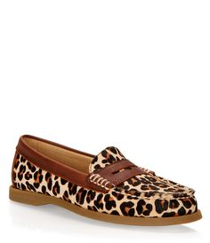 Leapord Sperry Loafers!!