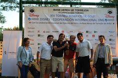 El campo de golf de la Base Aérea de Torrejón de Ardoz (Madrid) acogió el viernes 9 de junio el tradicional Torneo Benéfico de Golf Disney-Cooperación Internacional ONG, siendo esta su XIV edición.     El torneo ha contado con la inestimable colaboración del Ejército del Aire y de la Basea Aérea de Torrejón de Ardoz y ...