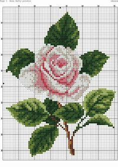 Newest No Cost Cross Stitch rose Strategies Given that For a nice and cross stitching considering I'd been her We sometimes suppose that by now discove Counted Cross Stitch Patterns, Cross Stitch Designs, Cross Stitch Embroidery, Hand Embroidery, Cross Stitch Rose, Modern Cross Stitch, Cross Stitch Flowers, Baby Kind, Cross Stitching