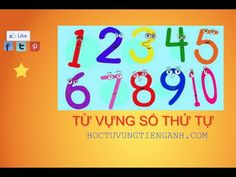 Từ vựng số thứ tự tiếng Anh