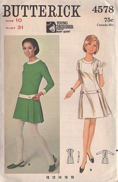 Dress patterns. This is SUPER cute! Reminds me of the 60s