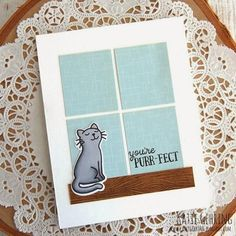 #card #cat #window #gatto #finestra #biglietto
