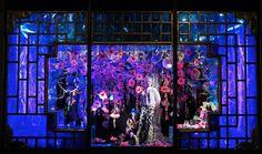 Harvey Nichols Xmas 2012, luxe holiday window display
