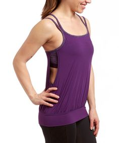 Look what I found on #zulily! Crown Jewel All for One Built-In Bra Cami by HEAD #zulilyfinds