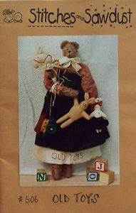 Craft sewing Pattern - Bear - Stitches and Sawdust - Unused