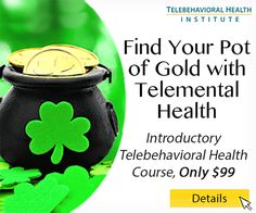 This St. Patricks Day. Take advantage of a Telemental Health course