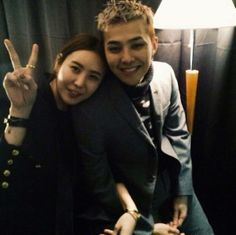 GD and his sister