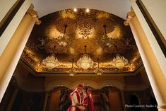 Rupal and Saurabh, Bangalore, Studio A, Wedding Portrait, Wedding Photography, Wedding Picture, Wedding Shots, Bride, Groom, Theme Wedding, Wedding Photograph, Candid Shots, Aesthetics, ITC Windsor Bangalore, The W Code, Wedding Ceremony, Wedding Photography Ideas, Photography Ideas, Creative Photography, Weddding Venue, Golden Theme