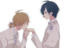 Boarding School Aesthetic, Honey Works, Persona 5 Joker, Boy Drawing, Romance, Haikyuu Characters, Shounen Ai, Vocaloid, Cute Pictures