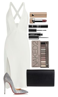 Untitled #1614 by fabianarveloc on Polyvore featuring polyvore fashion style Mason by Michelle Mason Christian Louboutin Yves Saint Laurent Urban Decay Marc Jacobs MAC Cosmetics MAKE UP FOR EVER clothing
