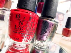 OPI San Francisco - Lost on Lombard, Peace & Love & OPI