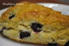 Traditional Blueberry Scone - Eggless. It doesn't matter to leave out the eggs in this one. Tastes delicious!!   http://idlicious.blogspot.com/2012/02/blueberry-scone.html  > yMarni's Vegetarian Compendium