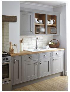 Home Decor Kitchen, Country Kitchen, Kitchen Interior, New Kitchen, Kitchen Ideas, Taupe Kitchen, Kitchen Paint, Kitchen Layout, Kitchen Small