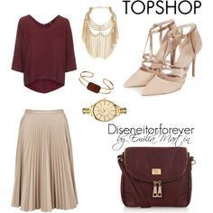Total Topshop by diseneitorforever on Polyvore featuring moda, Topshop, Marc B and topshop