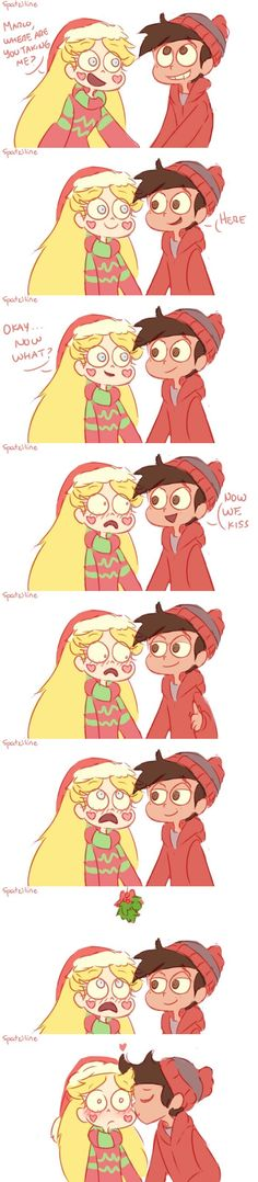 Hope you have a very merry starco Christmas! Even tho it's April 2018 LOL Cartoon Ships, Anime Ships, Starco Comic, All Falls Down, Memes, Fandoms, Star Butterfly, Star Vs The Forces Of Evil, Force Of Evil