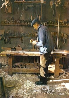 Old school joiners shop