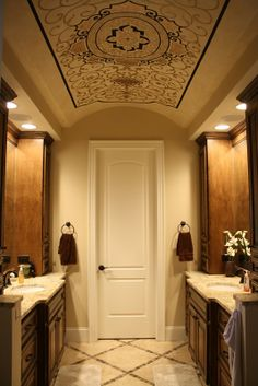Ceiling by Michele Molek of Fashionable Finishes