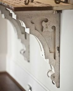 using architectural salvage in your home, repurposing upcycling, Antique corbels