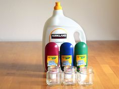 Washable kids paint - We will betesting this out on the next HOT or rain day