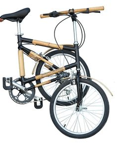 Folding Bike The Mekong+ Folding bike is a sturdy and compact model. The bamboo frame ensures comfort for multi-purpose cycling on all types of terrain. It is also very compact once folded, the size can be reduced to 840 x 900 x 300mm, perfect for easy handling and storage.