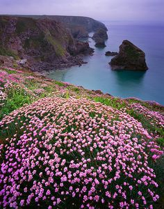 Bedruthan Steps by Richard_Downer, via Flickr -England
