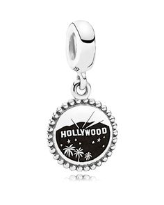 Pandora Dangle Charm - Sterling Silver Unforgettable Moment Los Angeles, Moments Collection