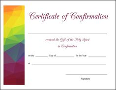 Baptism Certificate Template  Projects To Try