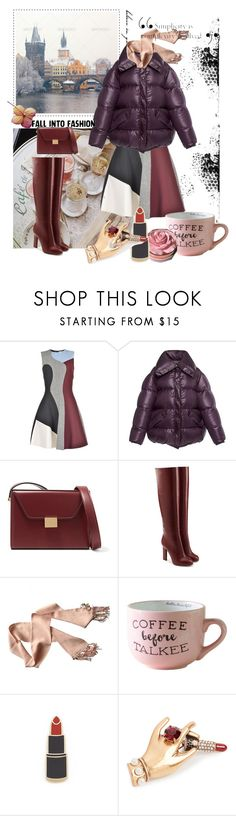 """November 2,2017"" by anny951 ❤ liked on Polyvore featuring Victoria Beckham, Nina Ricci, Christian Dior, Georgia Perry and Marc Jacobs"