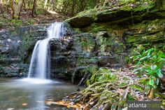 Hike to Cascade Falls on the Pine Mountain Trail at FD Roosevelt State Park