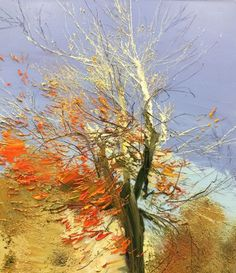 Work by artist and painter Lynn Boggess. Presenting a selection of his landscape paintings, the subjects of which reflect the diverse nature of West Virginia and its flora. Landscape Art, Landscape Paintings, Oil Paintings, Landscapes, Virginia Occidental, Winter Springs, Tree Art, West Virginia, Fields