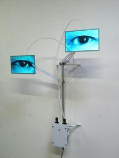 Alan Rath Creepy Images, Concept Art Tutorial, New Media Art, Interactive Art, Conceptual Art, Light And Shadow, Sculpture Art, Modern Sculpture, Installation Art