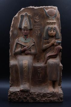 Ancient Egyptian Artifacts, Egyptian Kings, Egyptian Goddess, African History, African Art, African Culture, Osiris Isis, Antique Art, Antique Decor