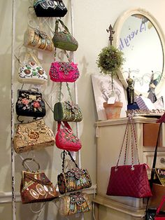 Purses, purses and more purses