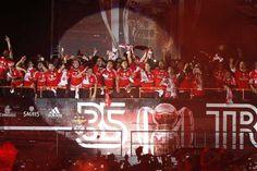 I Liga - Benfica sagra-se tricampeão nacional, 39 anos depois