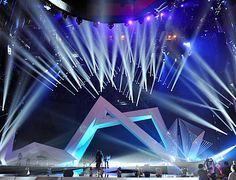 VMA Set Designer Explains Futuristic Inspiration, Remixed Architecture