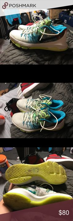 Shop Men's Nike White Green size 12 Athletic Shoes at a discounted price at  Poshmark. Description: kd Sold by Fast delivery, full service customer  support.