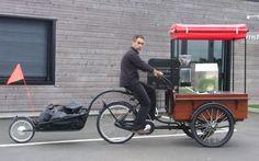 Remorque électrique pour vélo ou triporteur