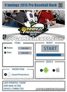 9 Innings: 2015 Pro Baseball Hack, Tips, & Cheats for Points & Stars  #9Innings #Simulation #Sports http://appgamecheats.com/9-innings-2015-pro-baseball-hack-tips-cheats-points-stars/