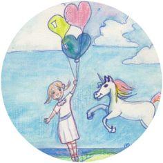 """Sylvias Welt:   """"Lass es los!""""  Insprationen, für die Seele! #Illustrationen, #spirituelle Weisheiten"""