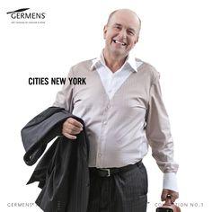 GERMENS Men's shirt »CITIES NEW YORK«  © GERMENS ✄ www.germens.de  Photo: Dirk Hanus  2012