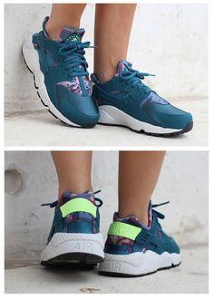 Nike Air Huarache 'Blue Camo'