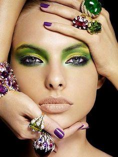 Un maquillaje diferente #maquillaje