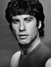 John Travolta, Vintage 1983 Gelatin Silver Photograph, Jack Mitchell