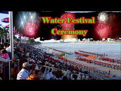Water Festival Ceremony, Khmer Ceremony, Water Festival Celibrate, Firework
